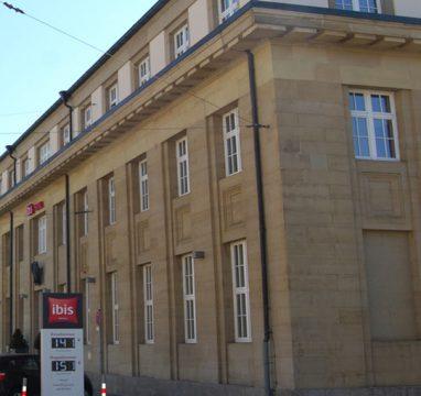 Hotel Ibis | ehemalige Bahnpost Karlsruhe